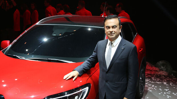 Carlos Ghosn Präsentation Renault Kadjar