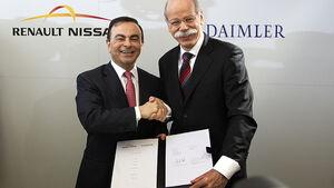 Carlos Ghosn und Dieter Zetsche