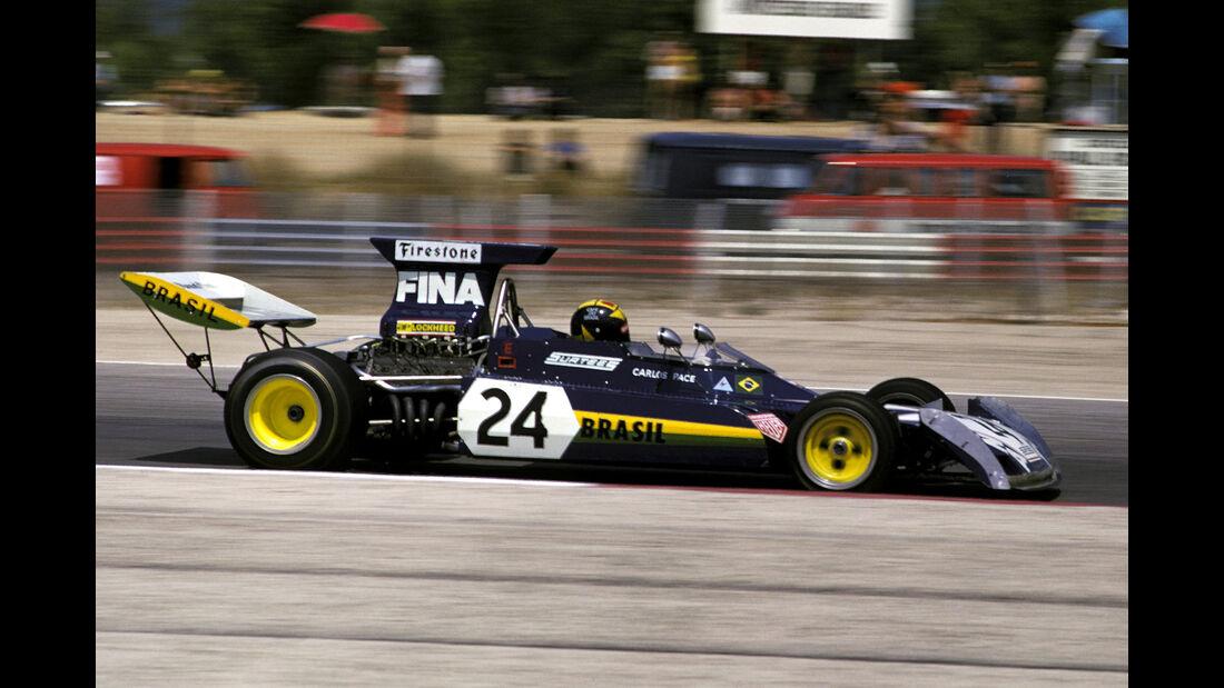 Carlos Pace - Surtees TS14A - GP Frankreich 1973
