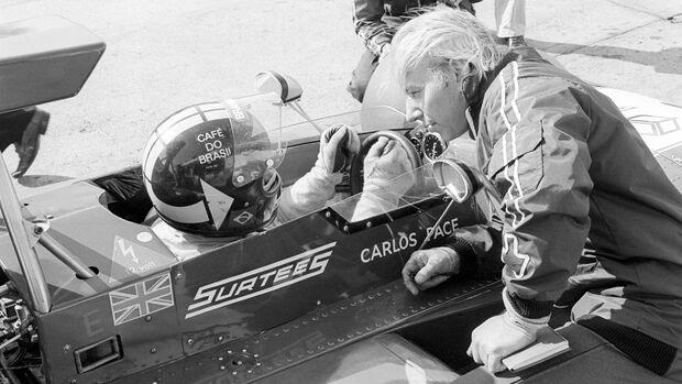 Carlos Pace - Surtees TS14A - John Surtees - Nürburgring 1973