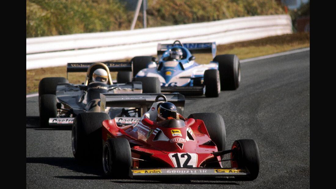Carlos Reutemann - Ferrari 312T2 - Fuji 1977