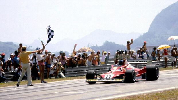 Carlos Reutemann - Ferrari - GP Brasilien 1977
