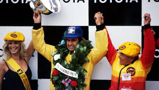 Carlos Reutemann - Ferrari - GP USA - Watkins Glen 1978