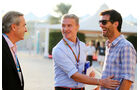 Carlos Sainz, David Coulthard & Mark Webber - Formel 1 - GP Abu Dhabi - 22. November 2014