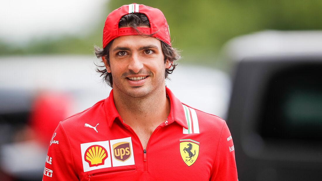 Carlos Sainz - Ferrari - F1 - 2021