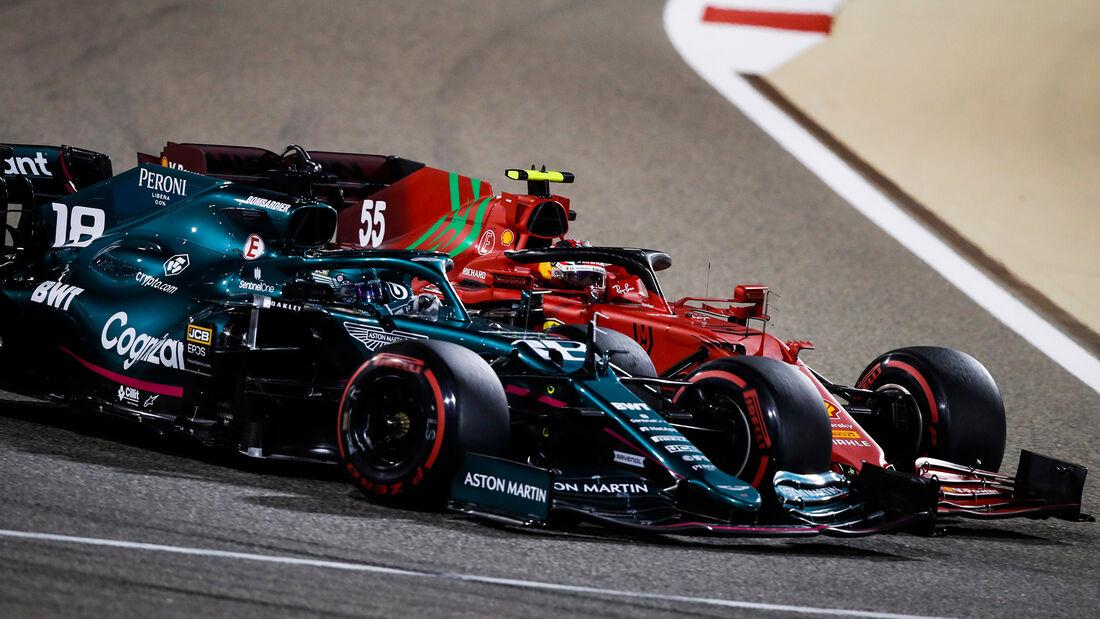 Carlos Sainz - Ferrari - Formel 1 - GP Bahrain 2021 - Rennen