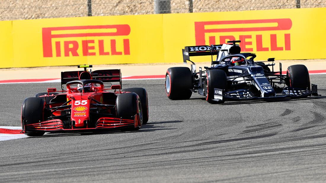 Carlos Sainz - Ferrari - Formel 1 - GP Bahrain - Freitag - 26.3.2021