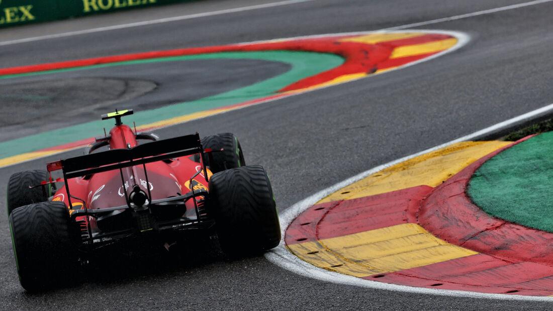 Carlos Sainz - Ferrari - Formel 1 - GP Belgien - 28. August 2021