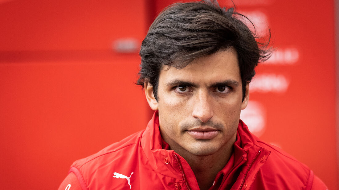 Carlos Sainz - Ferrari - Formel 1 - GP Belgien - Spa-Francorchamps - 27. August 2021