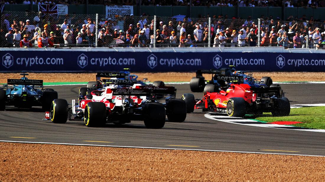 Carlos Sainz - Ferrari - Formel 1 - GP England - Silverstone - 17. Juli 2021