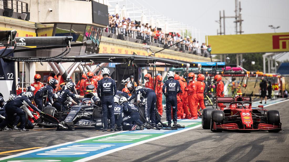 Carlos Sainz - Ferrari - Formel 1 - GP Frankreich 2021