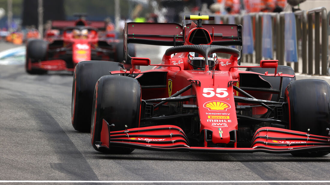 Carlos Sainz - Ferrari - Formel 1 - GP Frankreich - Le Castellet - 19. Juni 2021