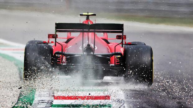 Carlos Sainz - Ferrari - Formel 1 - GP Italien - Monza - 10. September 2021