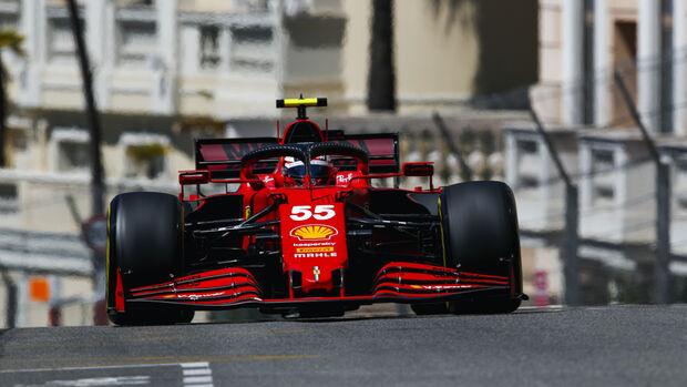 Carlos Sainz - Ferrari - Formel 1 - GP Monaco - 20. Mai 2021
