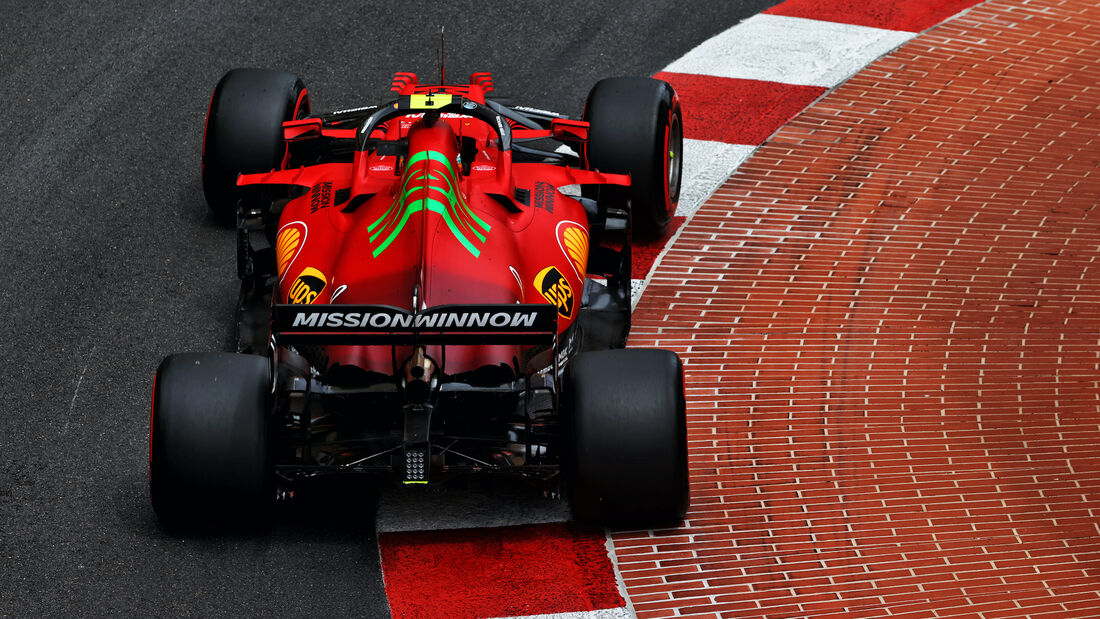 Carlos Sainz - Ferrari - Formel 1 - GP Monaco 2021