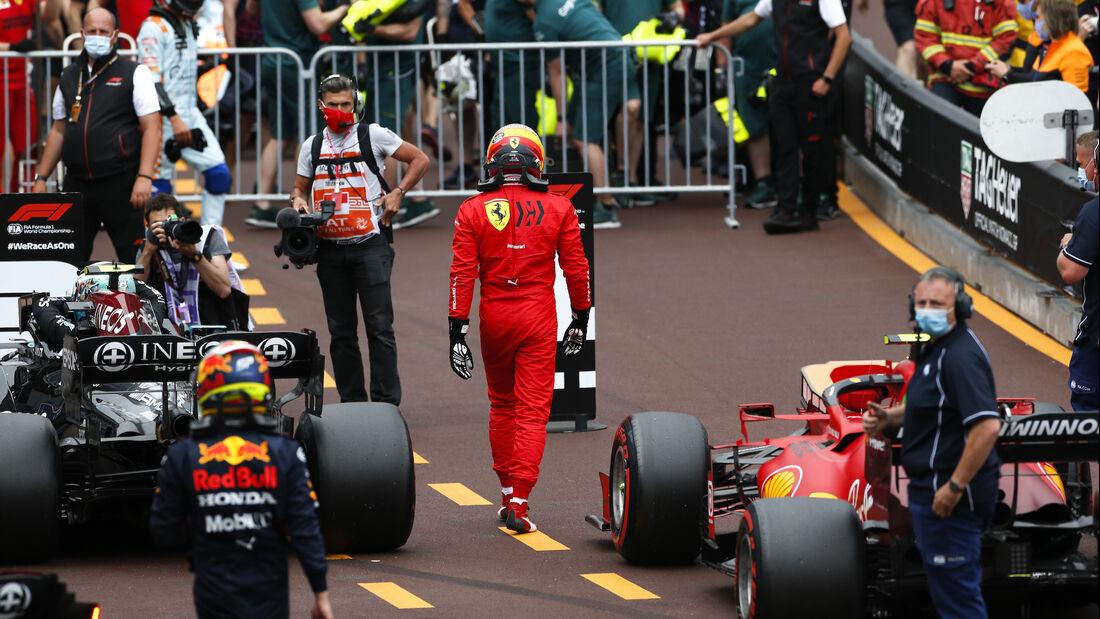 Carlos Sainz - Ferrari - Formel 1 - GP Monaco - 22. Mai 2021