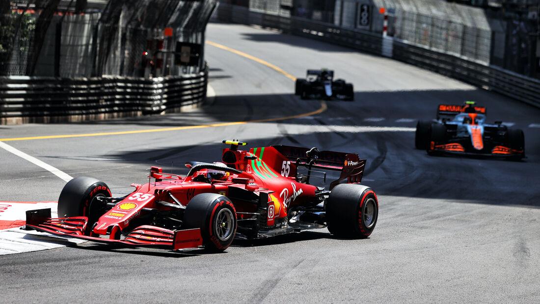 Carlos Sainz - Ferrari - Formel 1 - GP Monaco - 23. Mai 2021