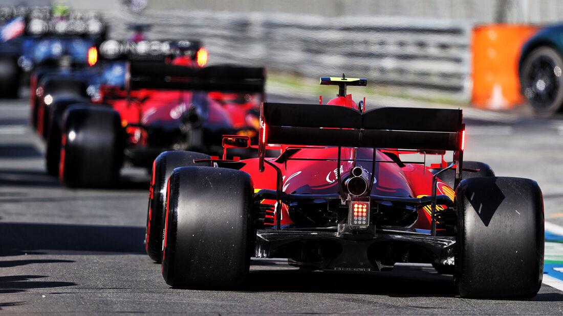 Carlos Sainz - Ferrari - Formel 1 - GP Niederlande - 4. September 2021