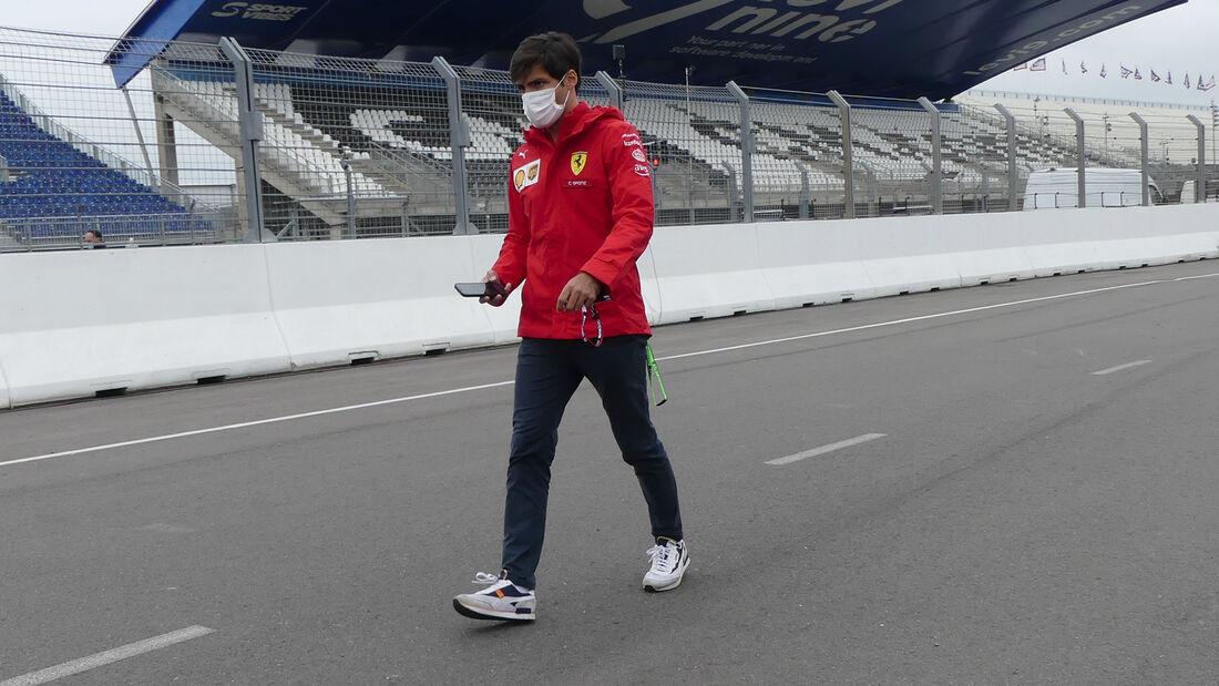 Carlos Sainz - Ferrari - Formel 1 - GP Niederlande - Zandvoort - 2. September 2021