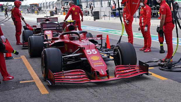 Carlos Sainz - Ferrari - Formel 1 - GP Portugal - Portimao - 30. April 2021