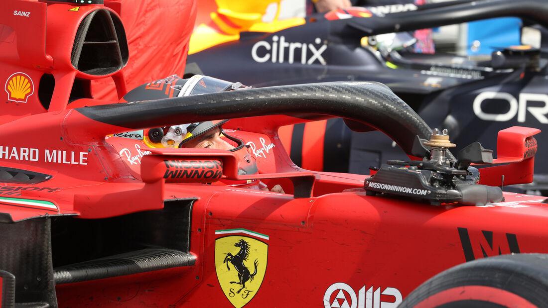 Carlos Sainz - Ferrari - Formel 1 - GP Spanien 2021 - Barcelona - Rennen