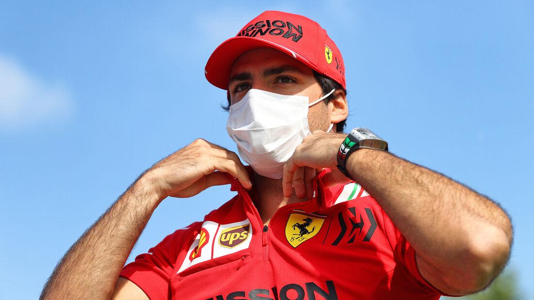 Carlos Sainz - Ferrari - Formel 1 - GP Spanien - Donnerstag - 6.5.2021