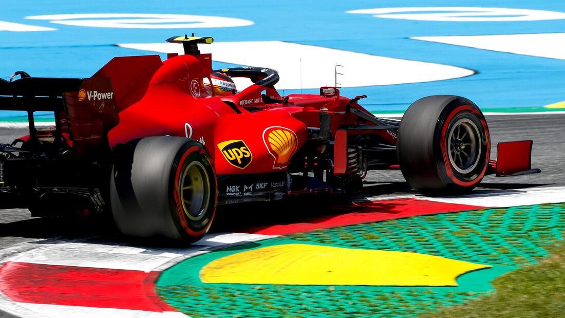 Carlos Sainz - Ferrari - Formel 1 - GP Steiermark - 26. Juni 2021