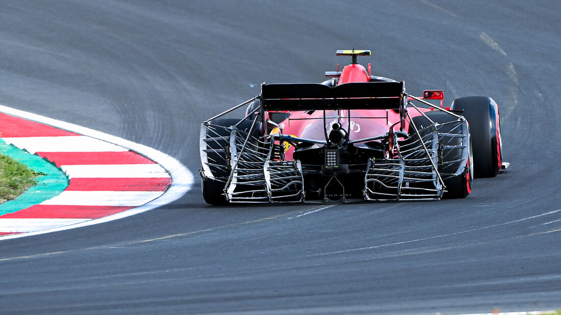Carlos Sainz - Ferrari - Formel 1 - GP Türkei - Istanbul - 8. Oktober 2021