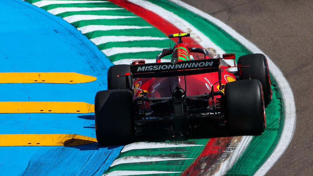 Carlos Sainz - Ferrari - Formel 1 - Imola - GP Emilia Romagna - 16. April 2021