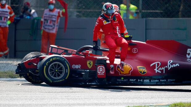 Carlos Sainz - Ferrari - Formel 1 - Monza - GP Italien - 11. September 2021