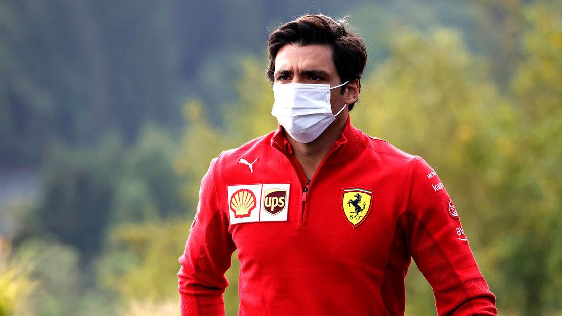 Carlos Sainz - Ferrari - GP Belgien - Spa-Francorchamps - 26. August 2021