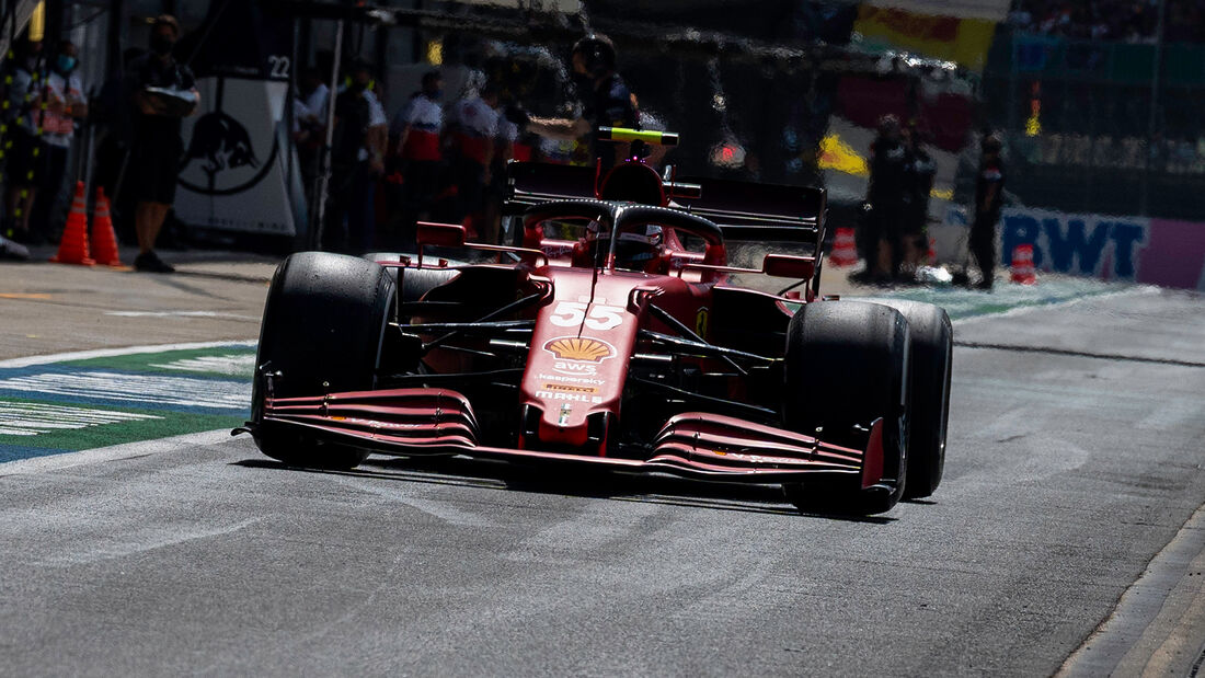 Carlos Sainz - Ferrari - GP England - Silverstone  - Formel 1 - 16. Juli 2021