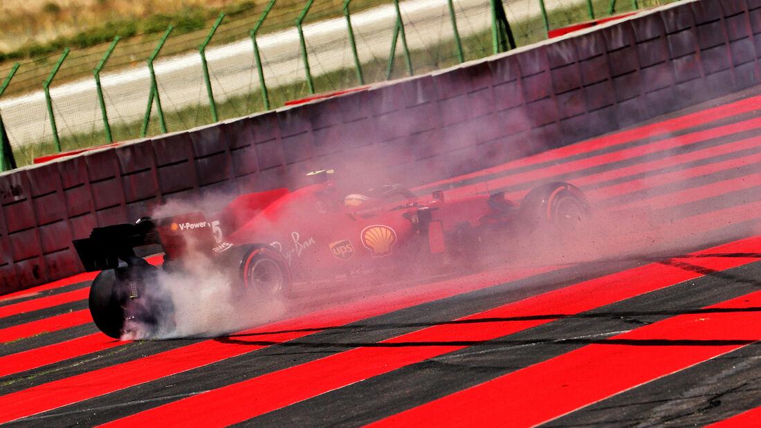 Carlos Sainz - Ferrari - GP Frankreich - Le Castellet - Paul Ricard Circuit - 18. Juni 2021