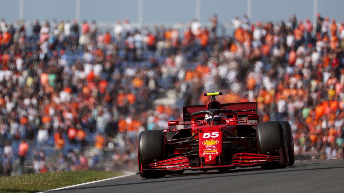 Carlos Sainz - Ferrari - GP Niederlande - Zandvoort - Formel 1 - 3. September 2021