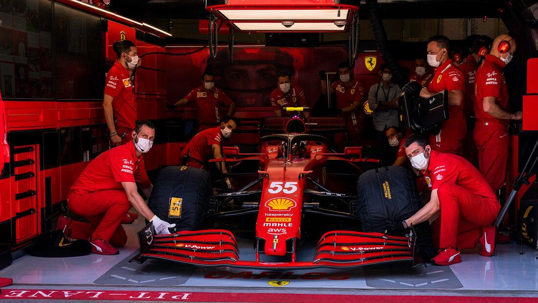 Carlos Sainz - Ferrari - GP Österreich 2021 - Spielberg - Qualifikation