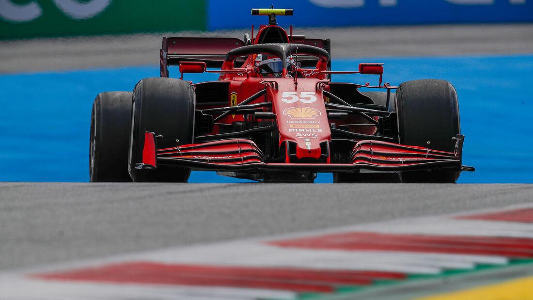 Carlos Sainz - Ferrari - GP Österreich 2021 - Spielberg - Rennen