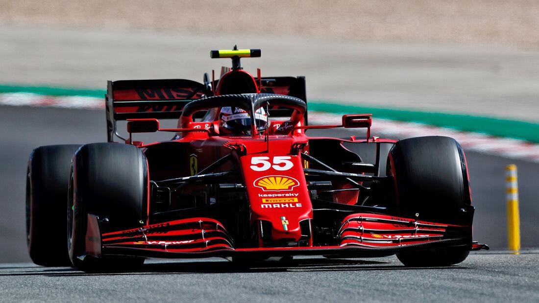 Carlos Sainz - Ferrari - GP Portugal - Portimao - 1. Mai 2021