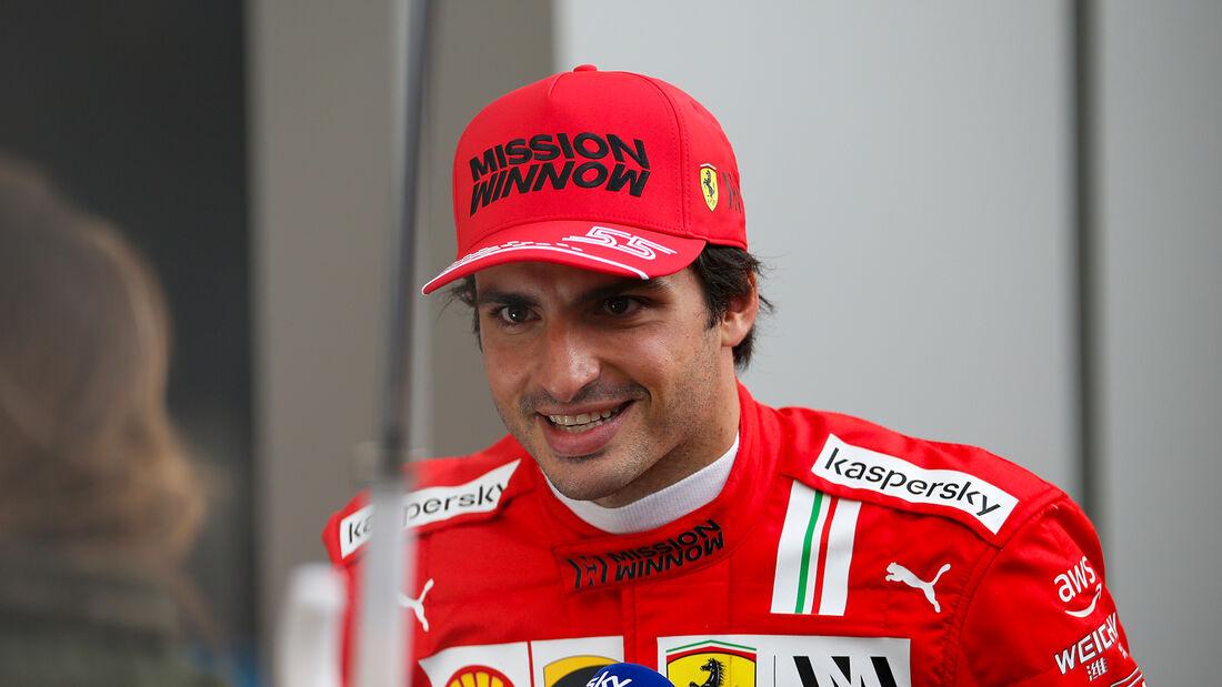 Carlos Sainz - Ferrari - GP Russland 2021 - Sotschi - Samstag