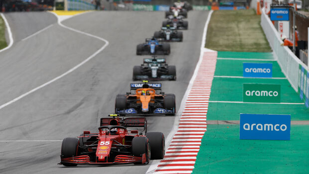 Carlos Sainz - Ferrari - GP Spanien 2021