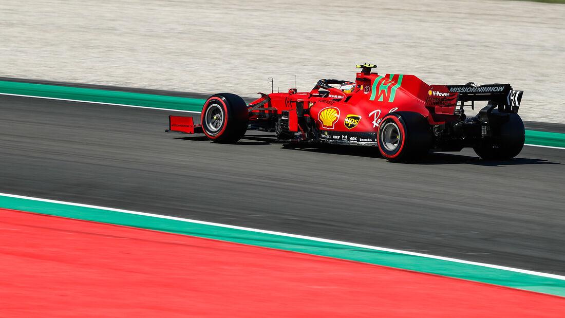Carlos Sainz - Ferrari - GP Spanien - Barcelona - Formel 1 - Samstag - 8.05.2021
