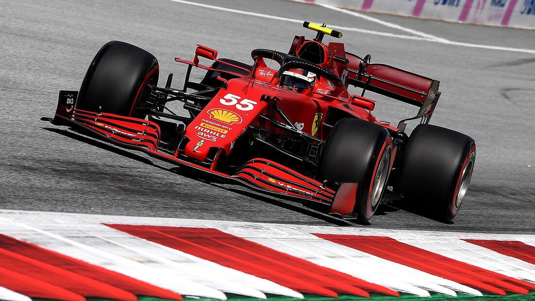 Carlos Sainz - Ferrari - GP Steiermark 2021 - Spielberg