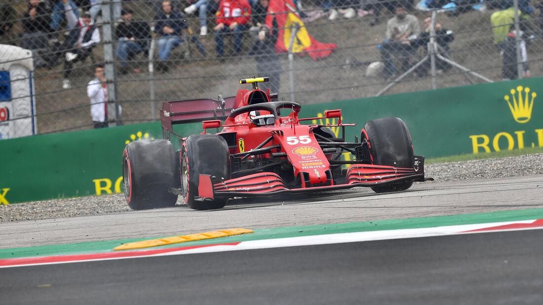 Carlos Sainz - Ferrari - GP Türkei - Istanbul - Formel 1 - 9. Oktober 2021