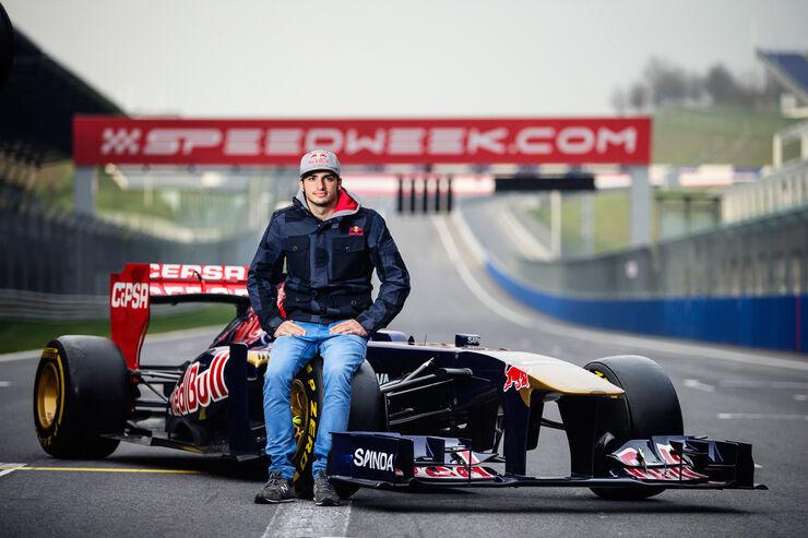 Carlos Sainz - Formel 1 - 2014