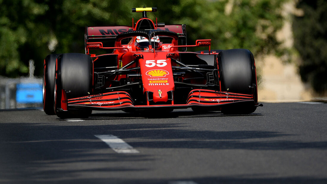 Carlos Sainz - Formel 1 - GP Aserbaidschan 2021
