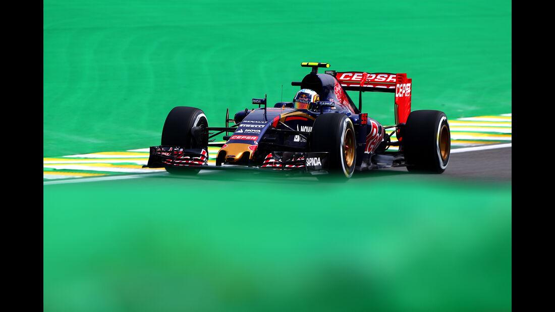 Carlos Sainz - Formel 1 - GP Brasilien- 13. November 2015