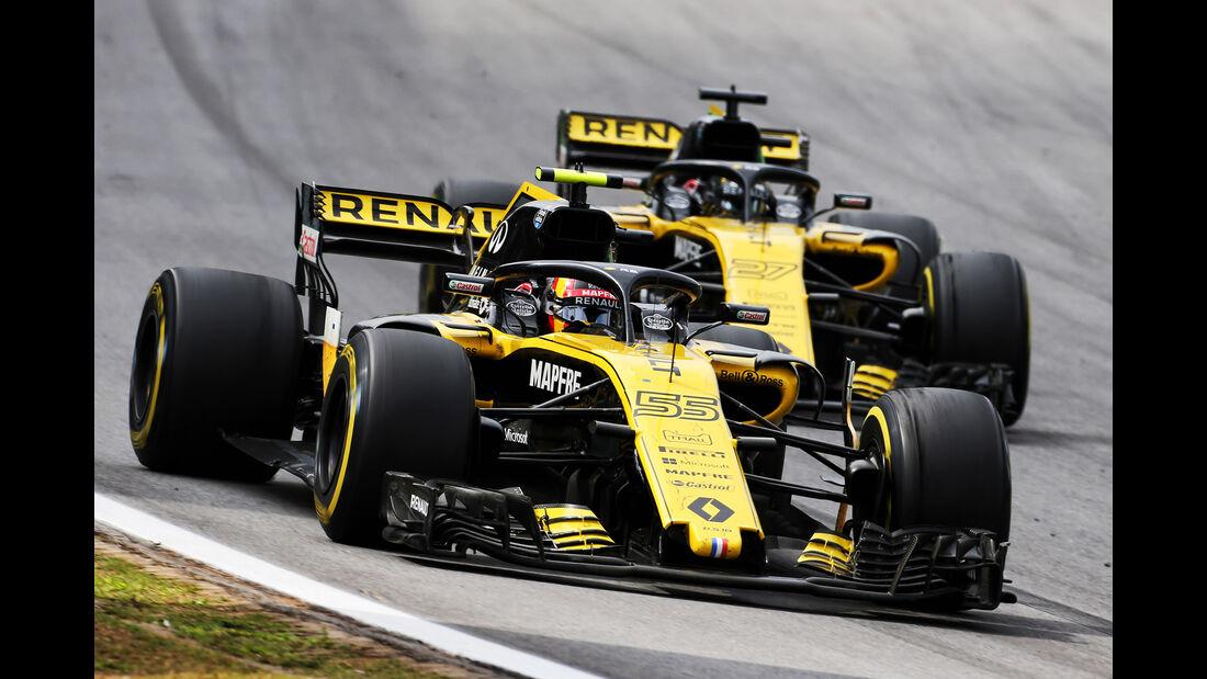 Carlos Sainz - Formel 1 - GP Brasilien 2018