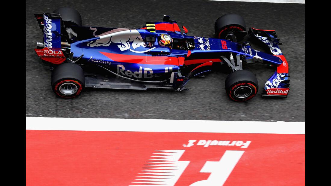 Carlos Sainz - Formel 1 - GP China 2017
