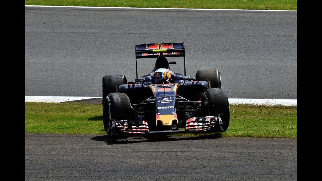 Carlos Sainz - Formel 1 - GP England 2016