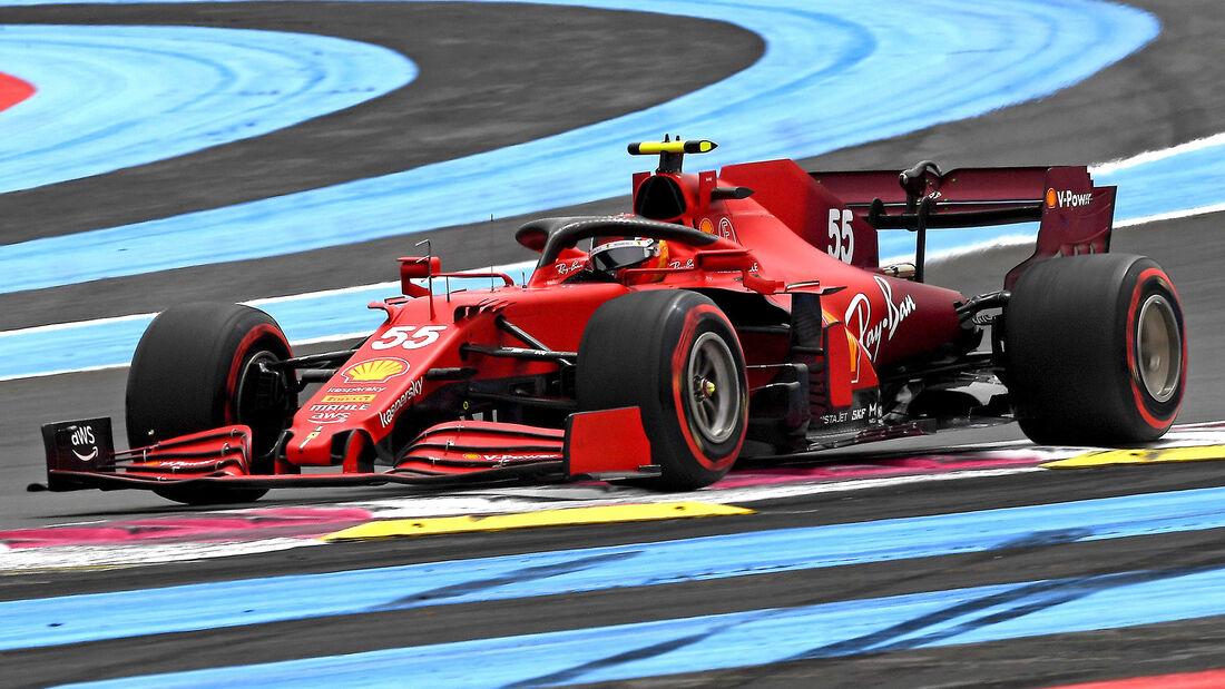 Carlos Sainz - Formel 1 - GP Frankreich 2021