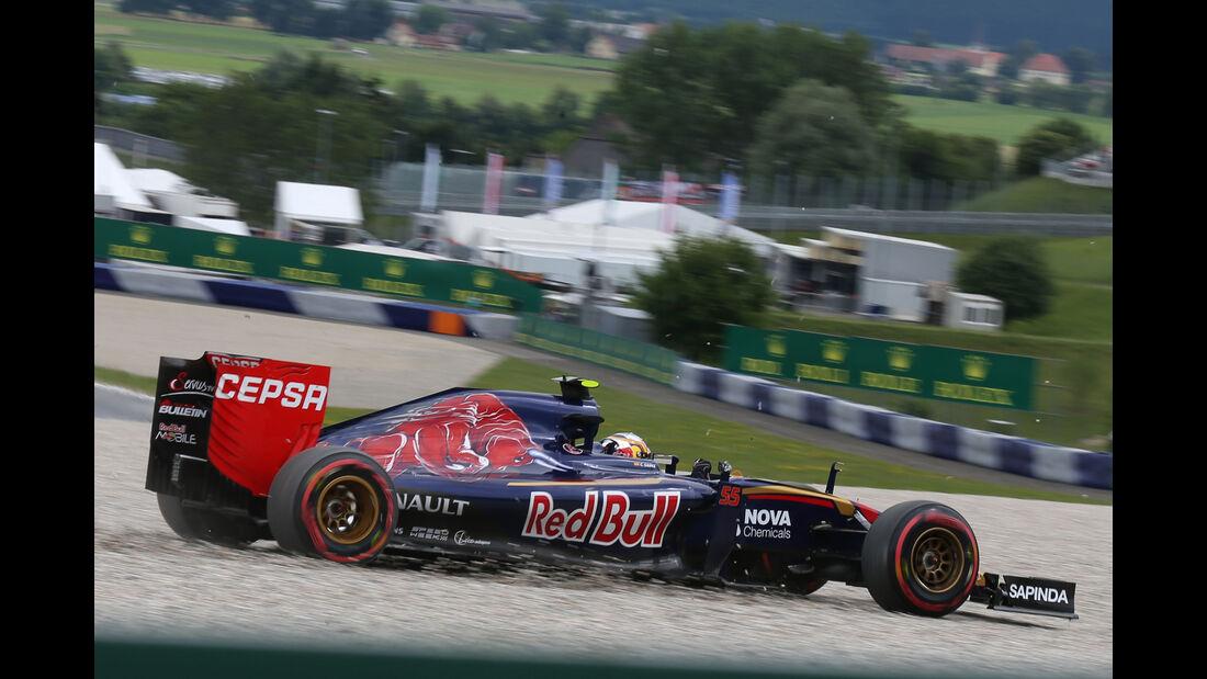 Carlos Sainz - Formel 1 - GP Österreich 2015